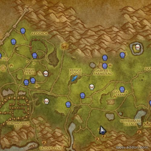 HandyNotes: Arathi Highlands Rares